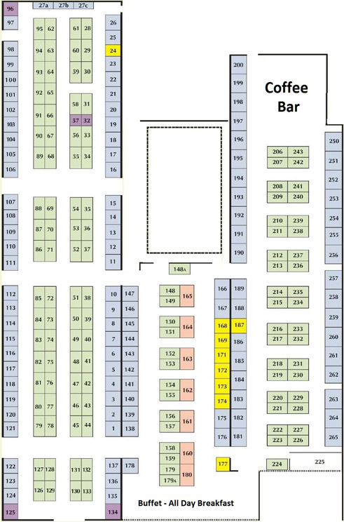 Four Oaks Trade Show site plan